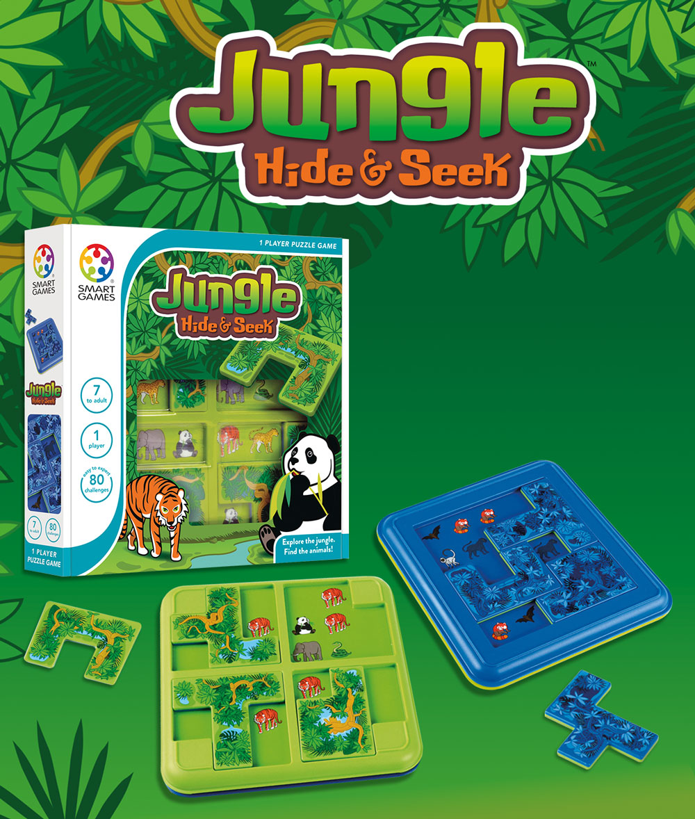 jungle hide seek smartgames. Black Bedroom Furniture Sets. Home Design Ideas
